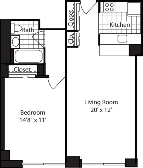 One Bedroom-600
