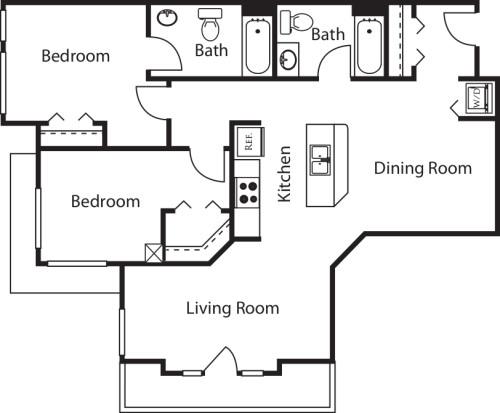 2 Bedroom GG