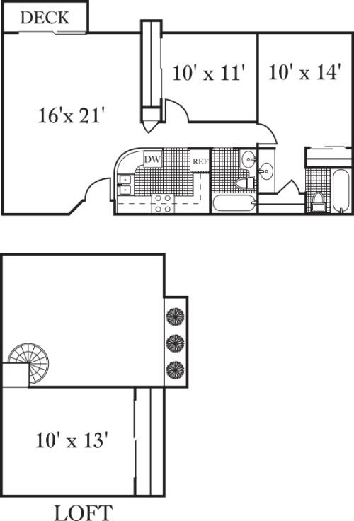 The Coronado w/loft