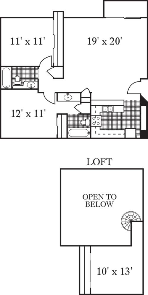 The Monterey w/loft