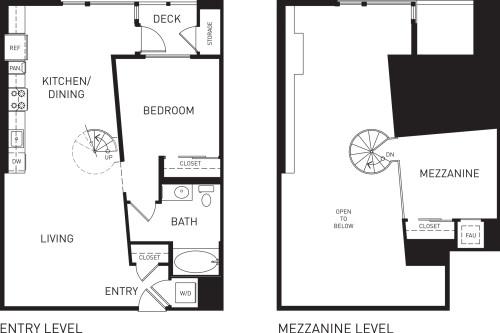 A4M with Mezzanine