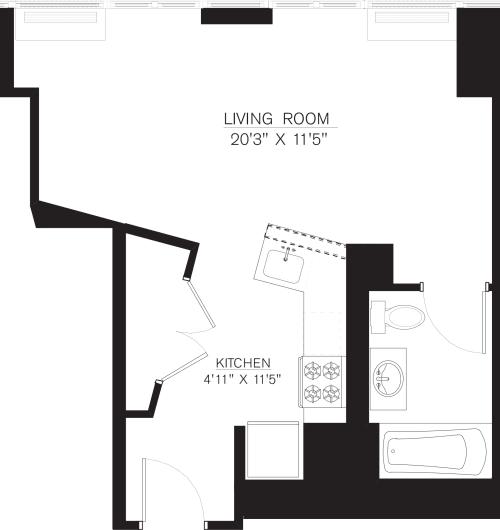 Studio C Line floor 5-50