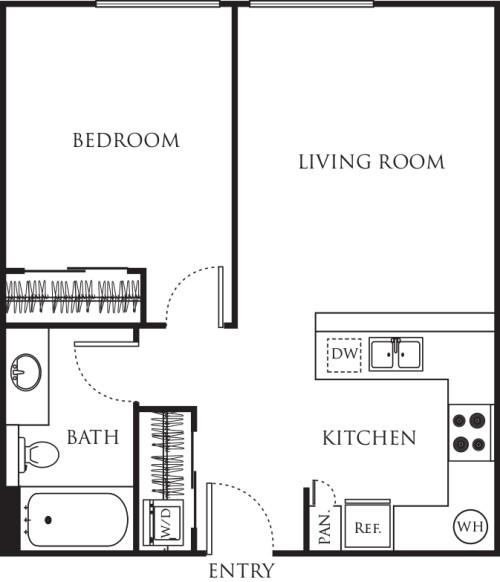One Bedroom 510