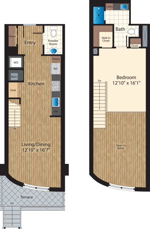 One Bedroom B 903
