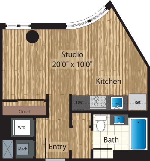 Studio Apartments Western Mass