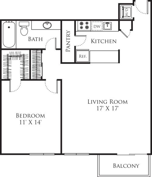 1 Bedroom E1