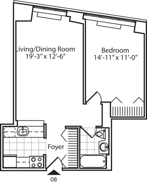 Residence 08 Floors 9-15