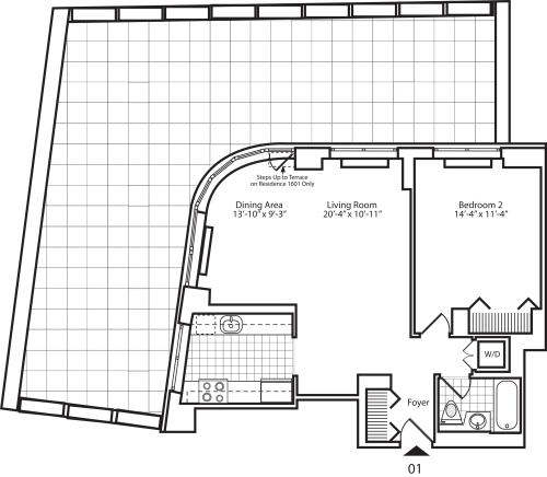 Residence 01 Floor 16