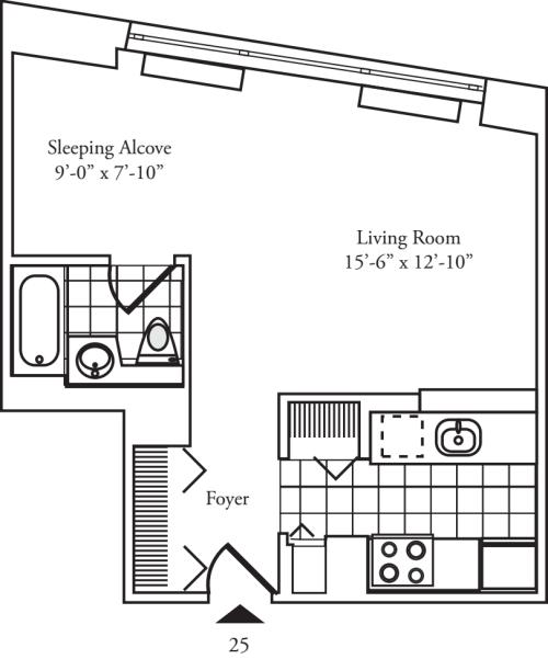 Residence 25 Floors 9-15