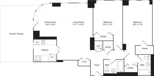 Residence 3 Floor 21