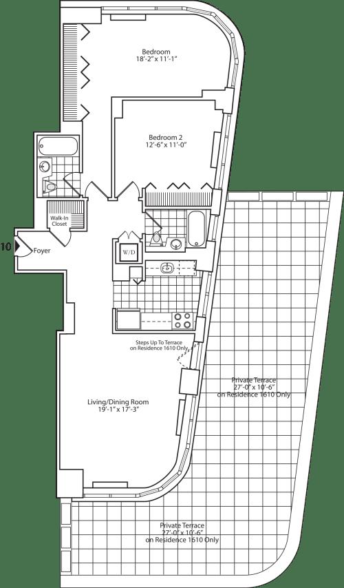 Residence 10 Floor 16