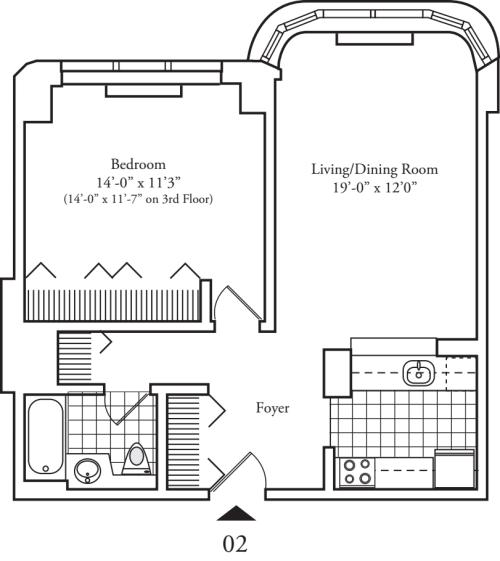 Residence 02 Floors 3-8