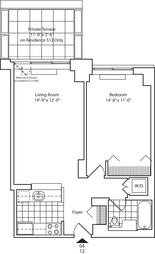 Residence 12 Floors 5-15