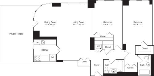 Residence 03 Floors 21-26