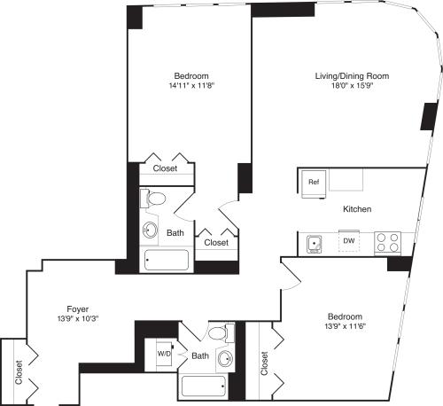 Residence 09 Floors 3-15