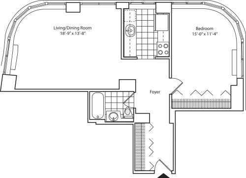 Residence 05 Floors 10-15