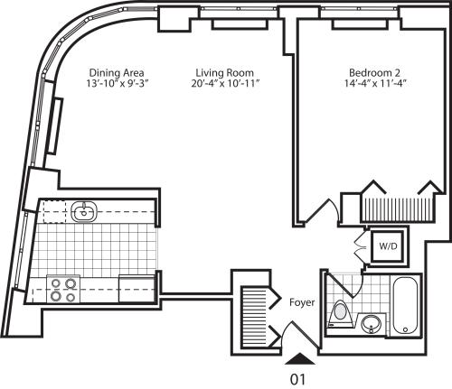 Residence 01 Floors 17-20
