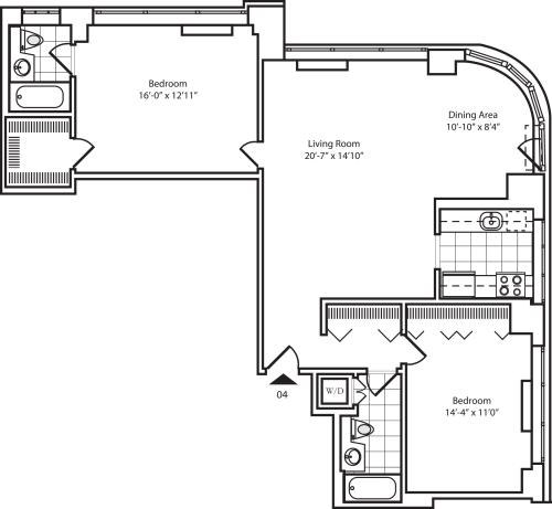 Residence 04 Floors 22-26
