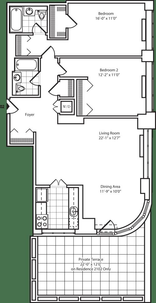Residence 10 Floor 17-20