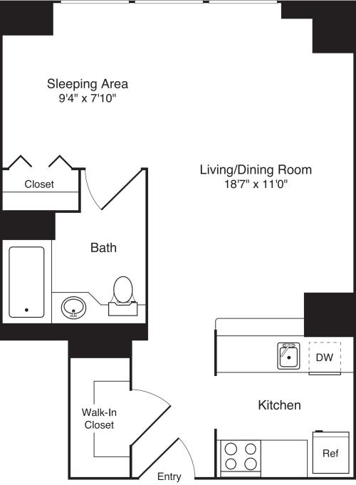 Residence 30 Floors 3-15