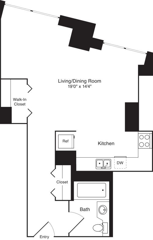 Residence 02, floors 3-8