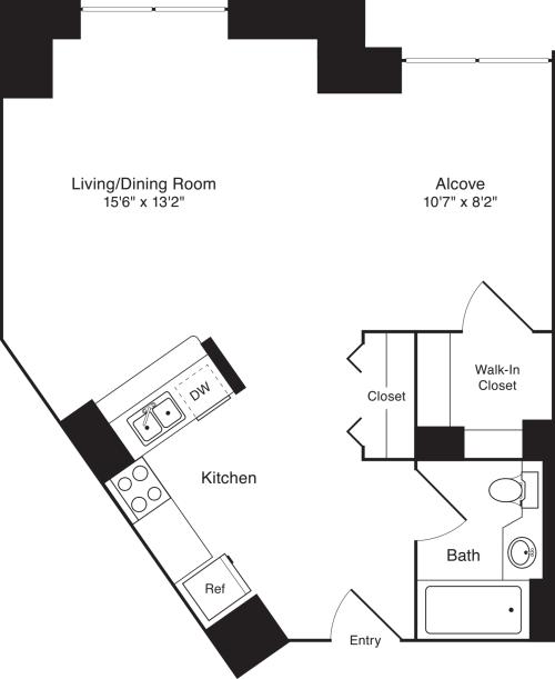 Residence 07, floors 3-8