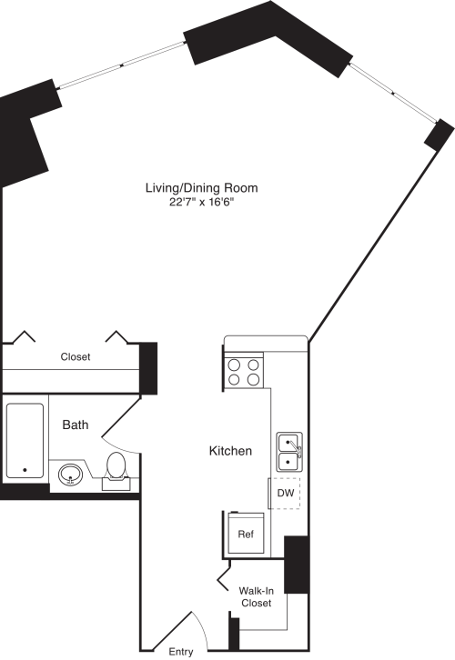 Residence 8, floors 3-8