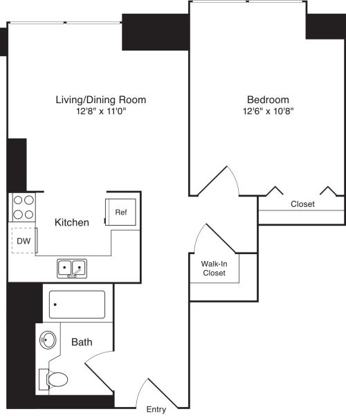 Residence K, floors 18-20