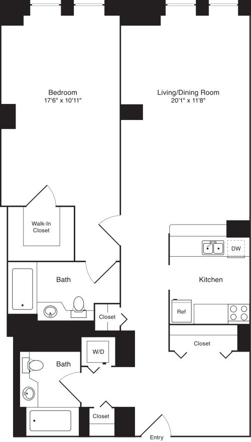 Residence M, floor 4