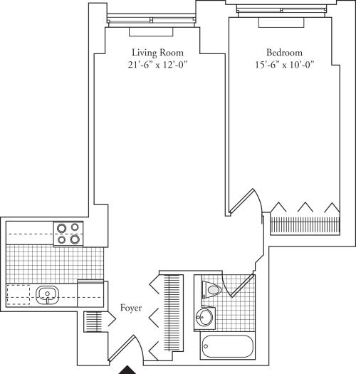Residence S, floors 5-17