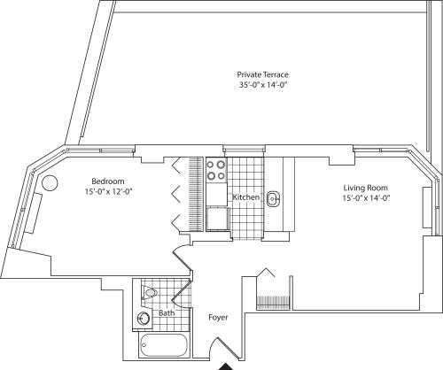 Residence D, floor 7