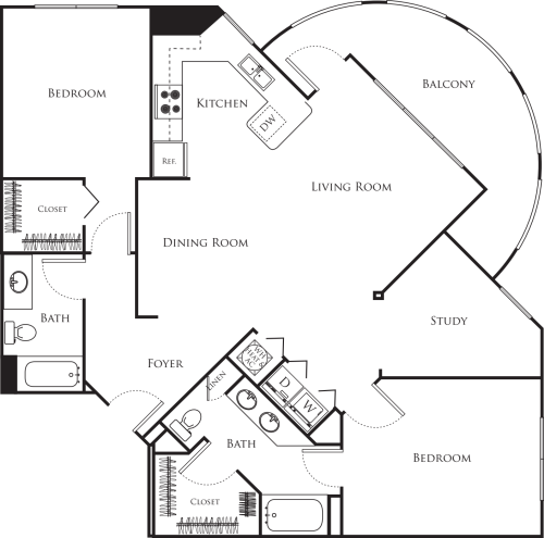 Two Bedroom I