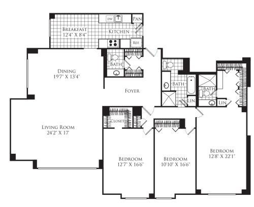 3 Bedroom D