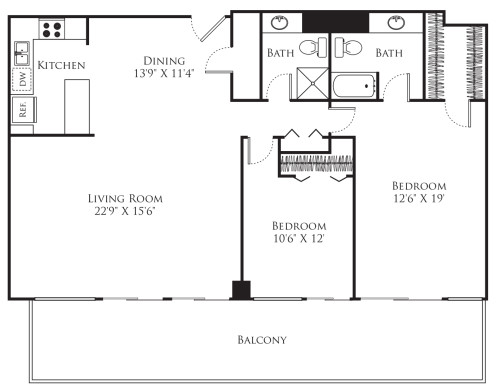 2 Bedroom - Tower