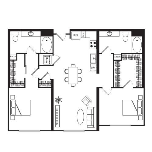 2A - 2 Bedroom Flat