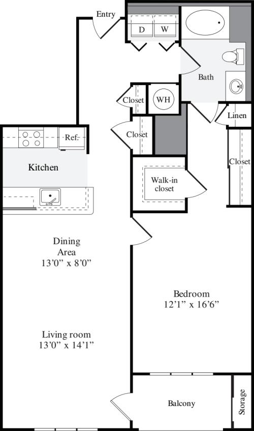 1 Bedroom G