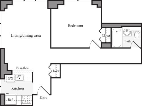 1 Bedroom D1