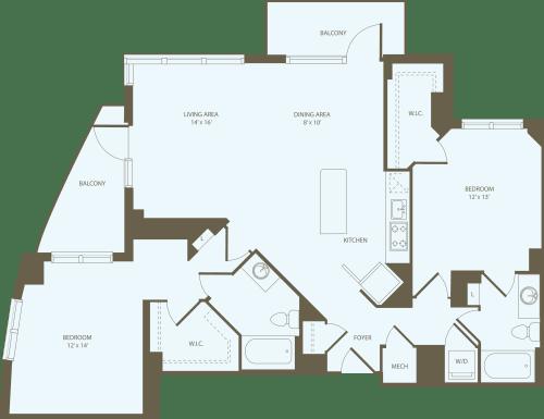 2 Bedrooms NN