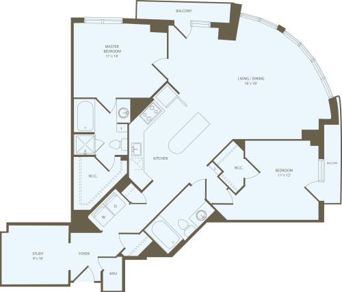 2 Bedrooms SS