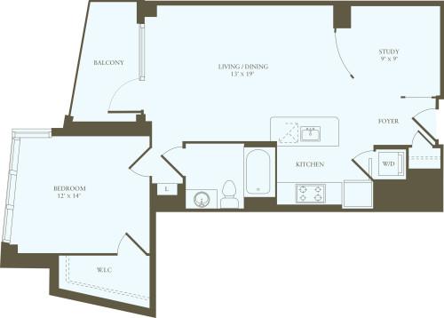 1 Bedroom U