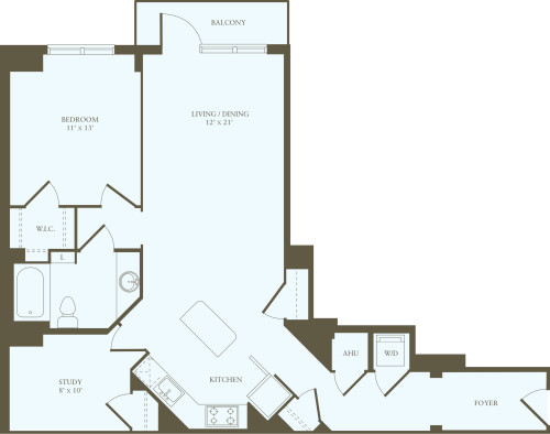 1 Bedroom FF