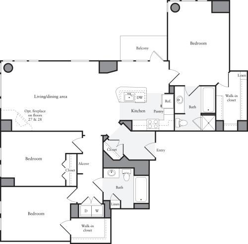 Equity Apartment: 660 Washington Apartments
