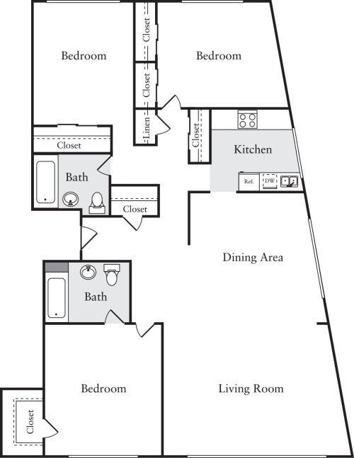 Cleveland House Apartments in DC - Woodley Park - 2727 29th Street ...