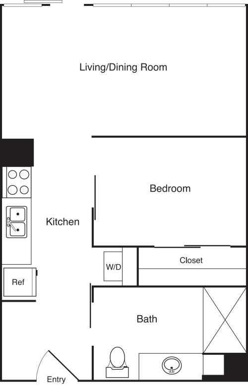 1 Bedroom N