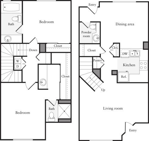 2 Bedrooms C