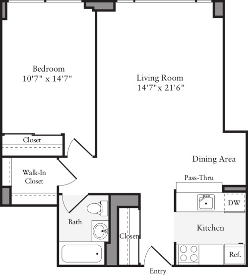 West 54th Apartments: West 54th Apartments In Midtown