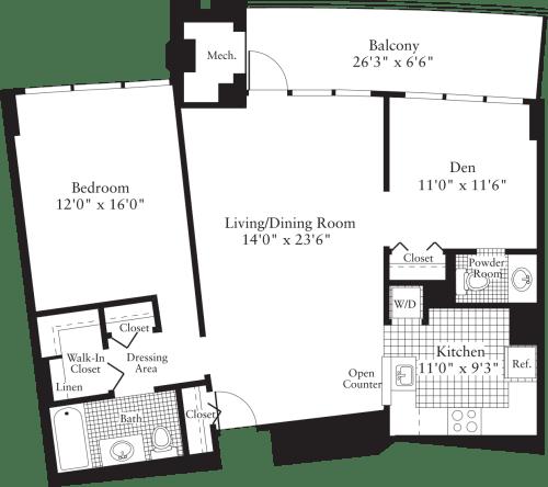 2 Bedroom J