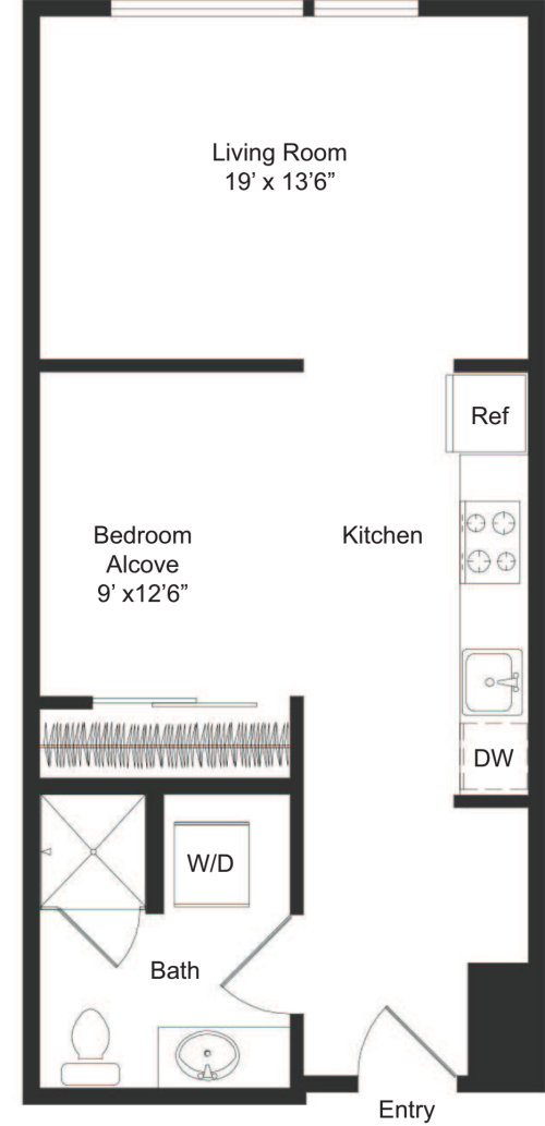 Three20 apartments in capitol hill seattle 320 east for Apt theater schedule