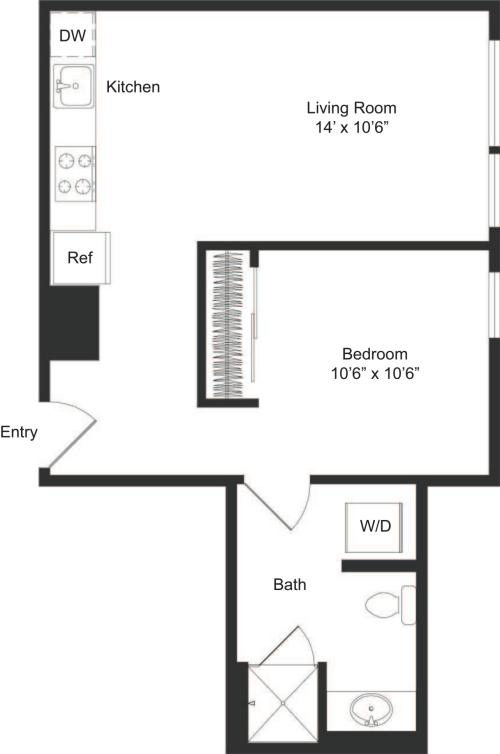 One Bedroom C4