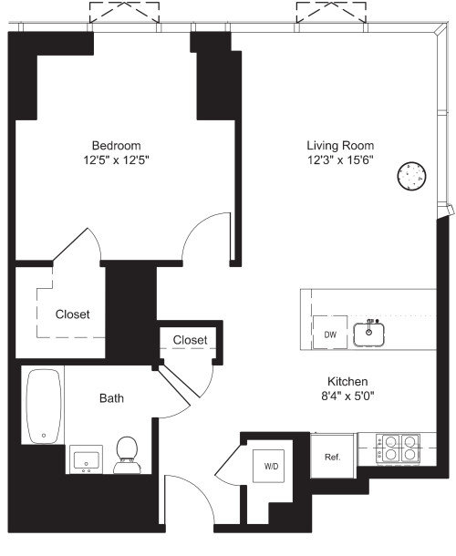 One Bedroom I 2